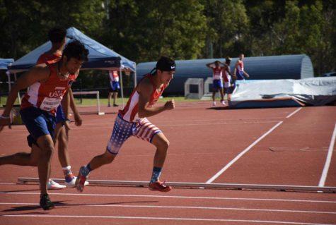 Mateo Vega Travels the Globe for Australian Track Competition
