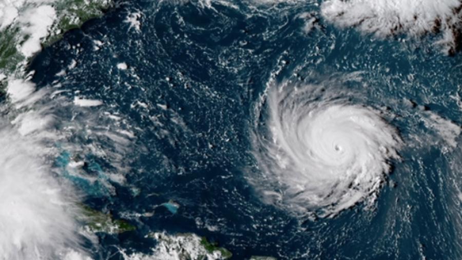 An Inside Eye's View of Hurricane Florence