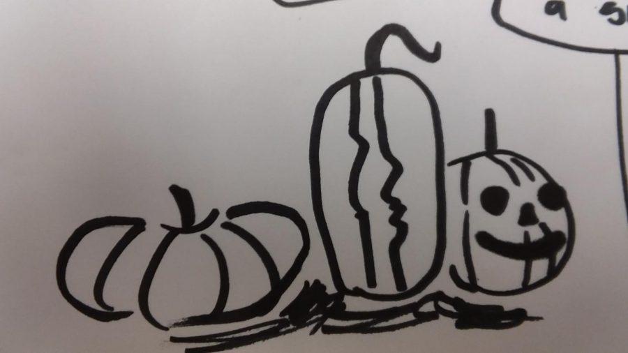 How to Make Halloween Doodles