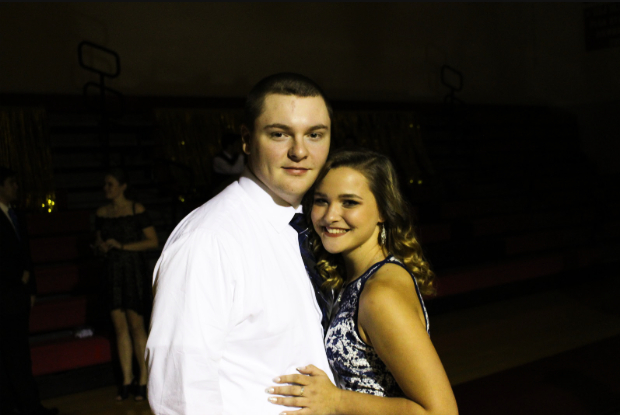 """""""Homecoming overall was really fun.I was able to be with my closest friends, and we all were able to just act ourselves and dance dumb without a care in the world,"""" said freshmen Ashley Turner.  This was Turner's first homecoming, and she really valued her time there with her escort junior Hunter Anthony."""
