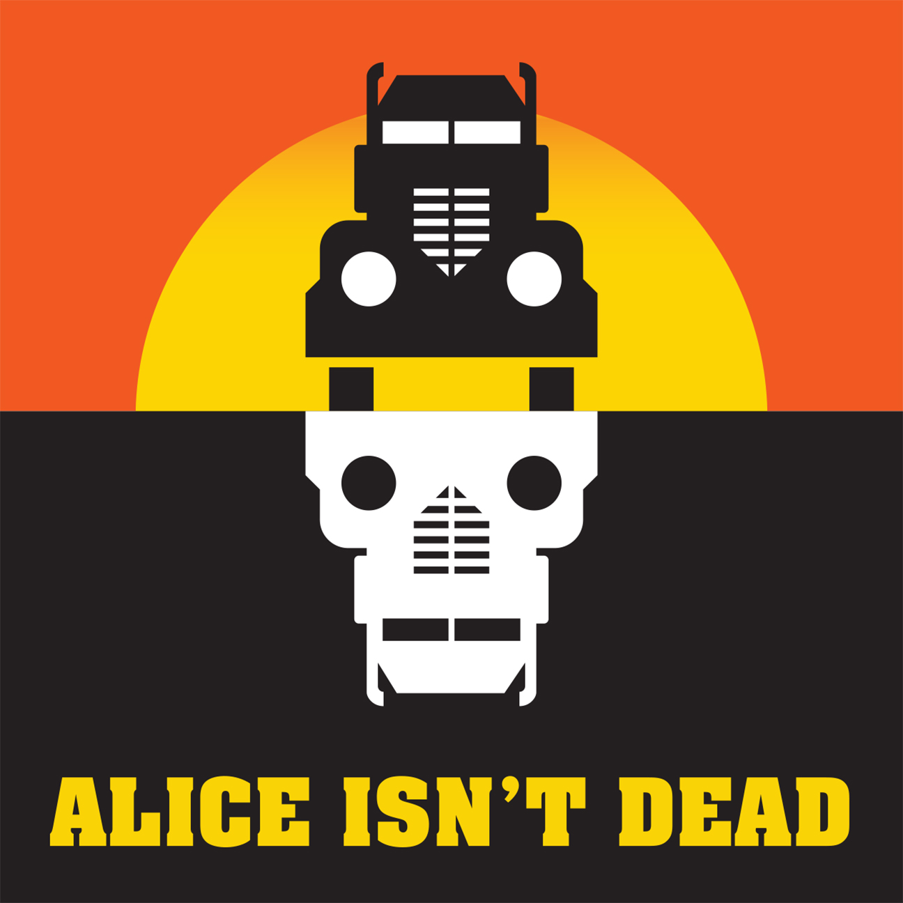 Alice Isn't Dead's official cover art.  Image by Rob Wilson