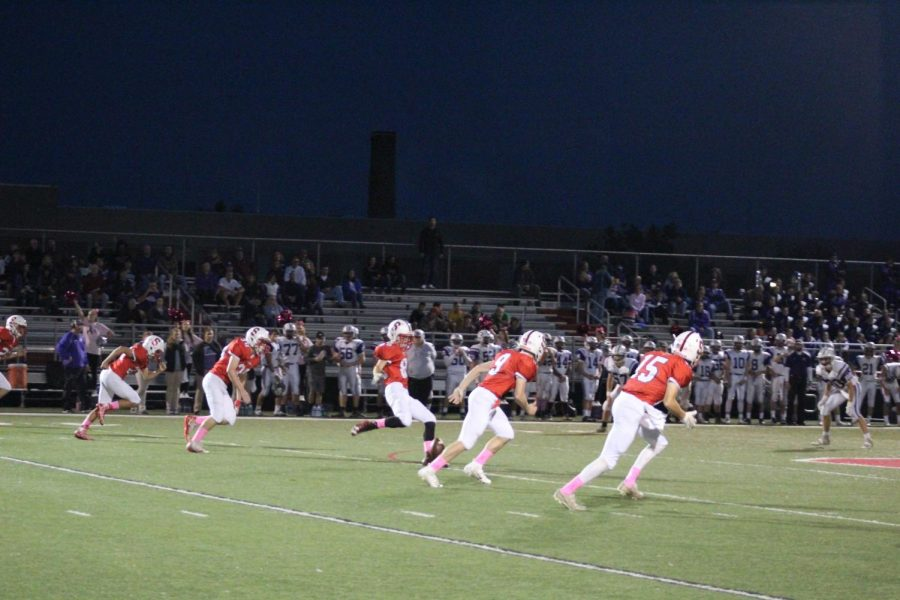 Senior+Dustin+Shipley+kicks+off+the+game+against+Northern.+As+a+kicker%2C+Shipley++kicks+off+the+football+games+and+is+seen+after+touchdowns+to+kick+field+goals.%0APhoto+by+Stephanie+Graffin%0A