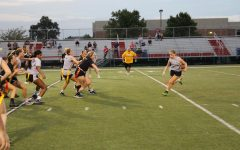 Girls Clash in Powder Puff