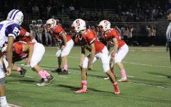 "Varsity Football falls to Northern on ""Pink Out"" Night"
