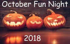 Student Organizations Host October Fun Night
