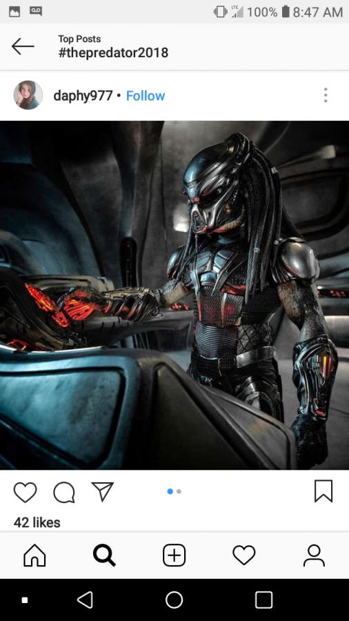 'The Predator' Stalks Prey in a New Way