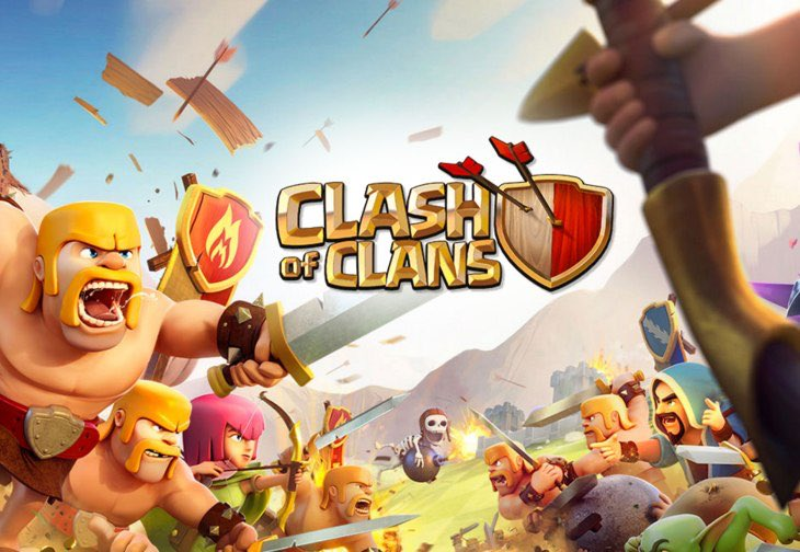 Clash of Clans is the talk of the freshmen class.  Via @ClashofClans on Twitter