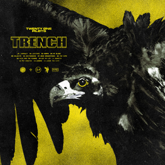 The cover of Twenty One Pilots' fifth album, Trench. Image courtesy of DatBot via Wikipedia.