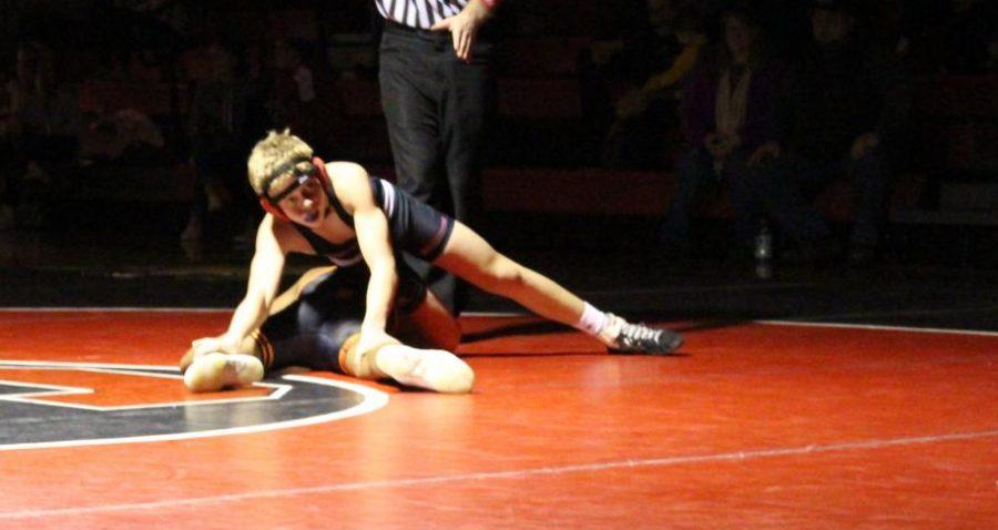 York Suburban High School student and our school wrestler Andrew Baibos
