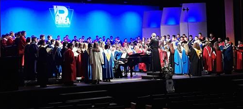 This is an image of the 2018  District 7 chorus.