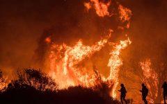 Southern California Wildfires Recede