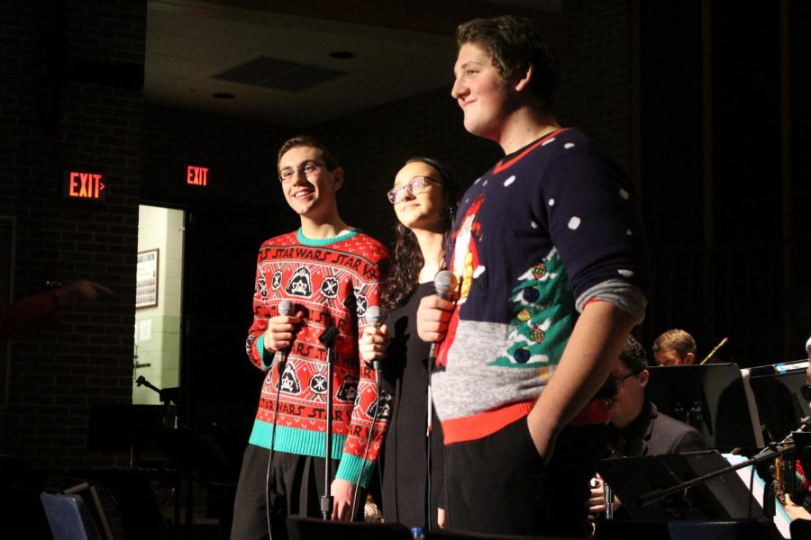 """We all put a lot of work into it, so our passion for music and everyone else's passion for music spreads around, said senior Jazz Band Vocalist Ella Wetzel. Also with a lot of old friends and family being around, it all just makes everything happy."""""""