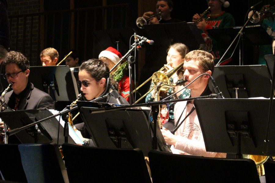 """""""I just really love hearing all the different ensembles together, said Wetzel. I really love the orchestra and the jazz band, they do a really fantastic job."""""""