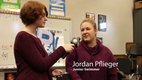 Courier Chat: Jordan Pflieger Discusses Swim Season
