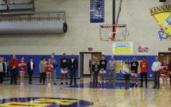 Seniors Honored on Senior Night