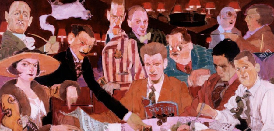 A painting that represents the speakeasies of New York City.  Image Courtesy of: @BoweryBoys via Twitter