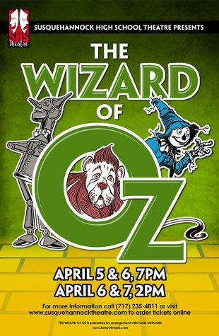 """The Wizard of Oz"" is Heading Down the Yellow Brick Road to Susquehannock"