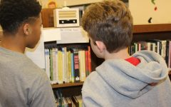 Students Experience the 1950s in the Library