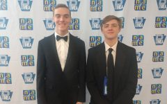 Hayden McGarvey and Lucas Schwanke Selected in the All Eastern Band Concert