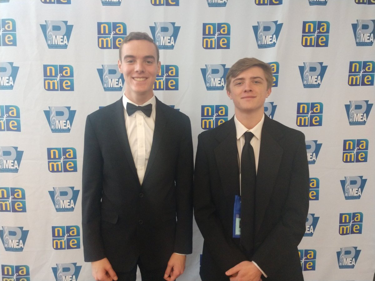 Warriors SHS Bands    @WarriorsSHSBand  Apr 7 More Two SHS students, Hayden Mcgarvey and Lucas Schwanke are performing this afternoon in the 2019 NAfME All-East Concert Band.    More than 780 of the most talented students in the Eastern region of the U.S. have been selected to perform.  Congratulations to both for this honor!