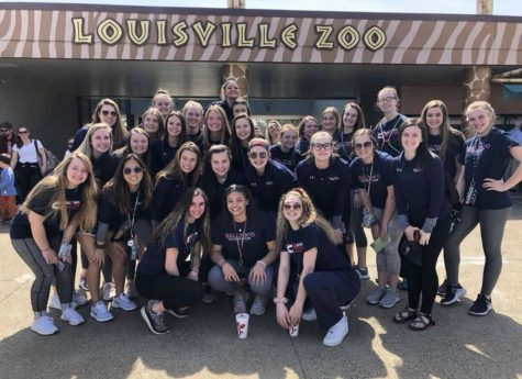 Two Sophomores Travel to Kentucky for Volleyball