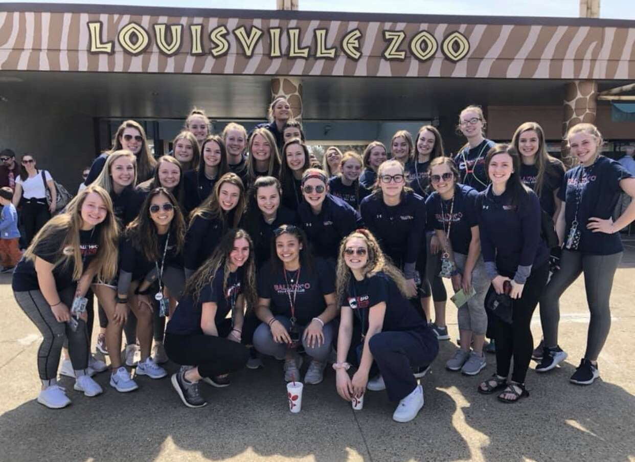 When the three teams first arrived in Kentucky, the teams took a day trip to explore the Louisville Zoo. Picture courtesy of Savannah Lesley