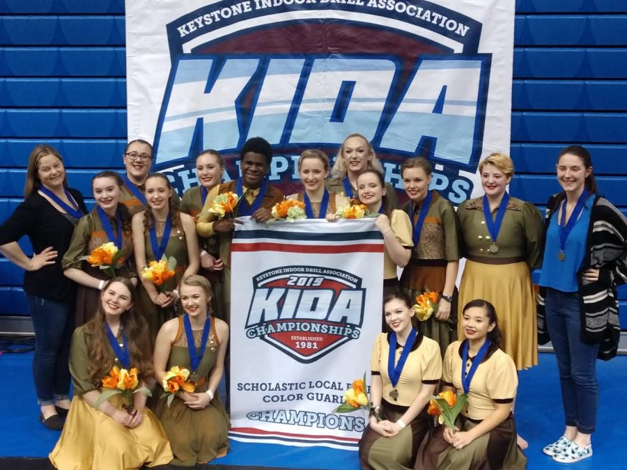 Colorguard+and+Drumline+Tackle+Championships