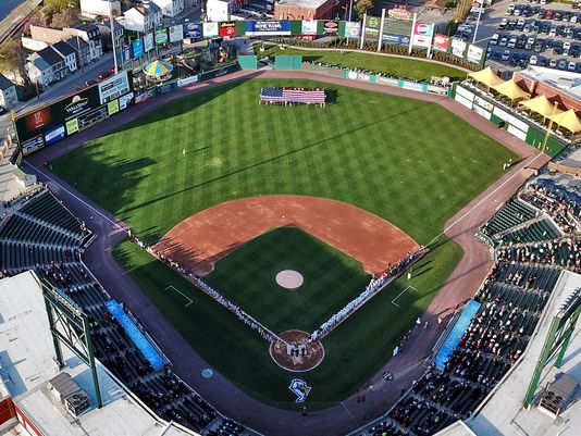 Photo overlooking the York Revolution stadium. Photo Courtesy: York Dispatch