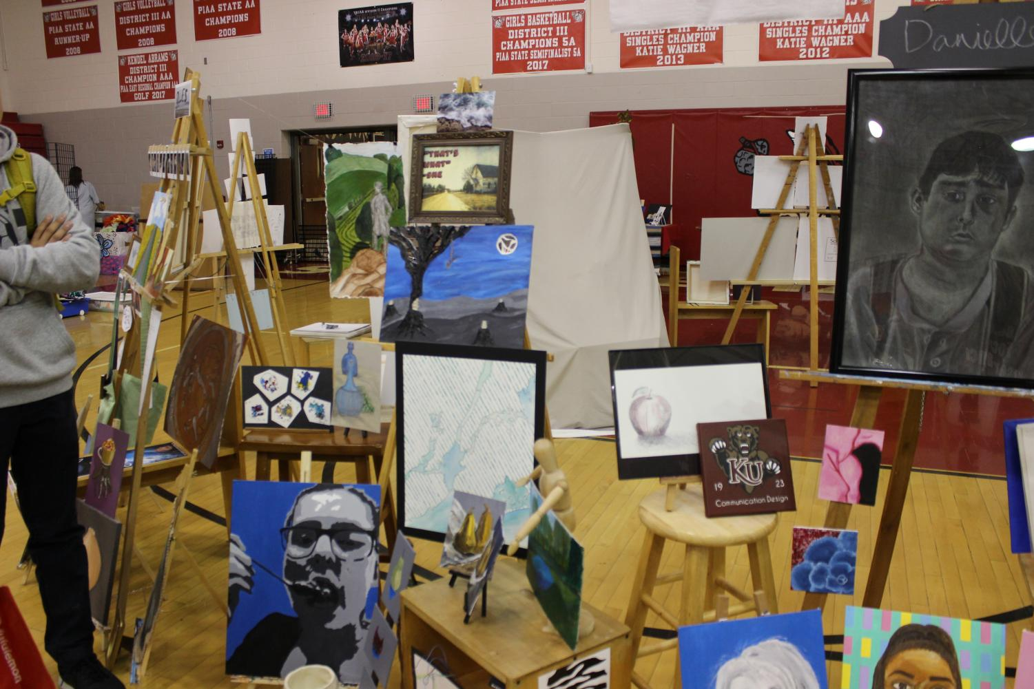 Arts and Tech Fair Showcases Susky Artistic Talent