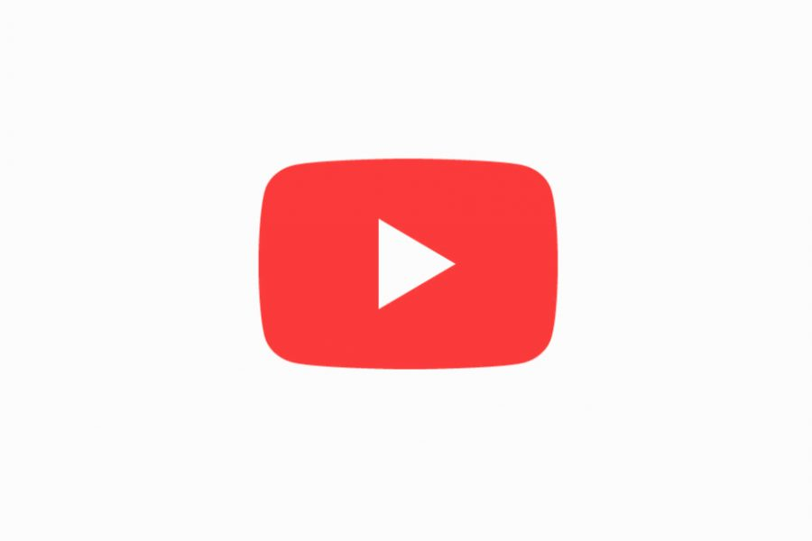 The Youtube logo. Screenshot from the Youtube application.