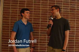 Jordan Futrell Talks About Being Valedictorian