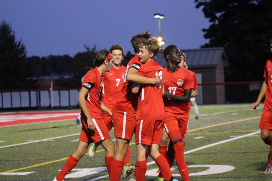 Boys Soccer Kicks It into States