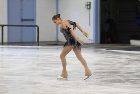 Eckels performs at a competition, on her way to the Regional win. Photograph Courtesy of Vision Photos