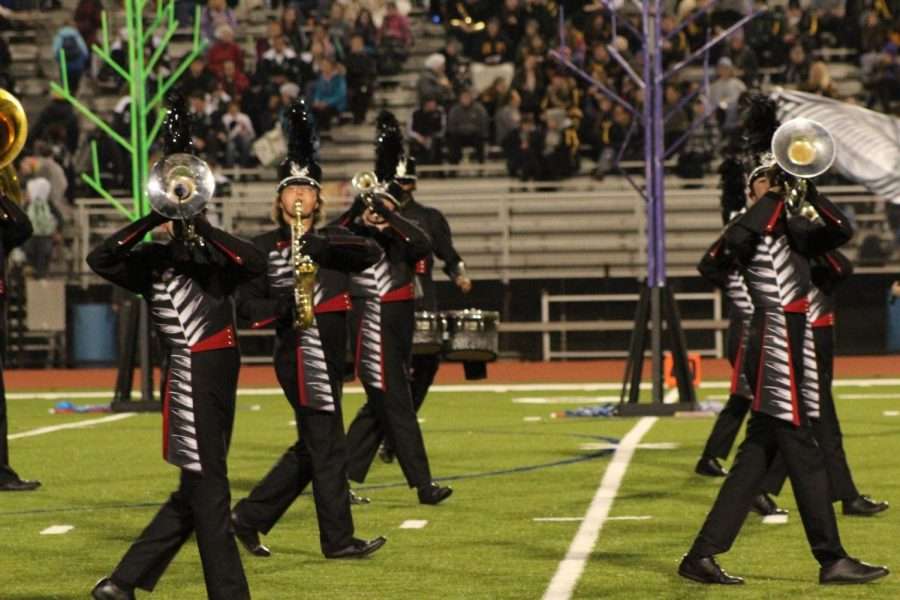 Marching Band Plays to its Own Beat