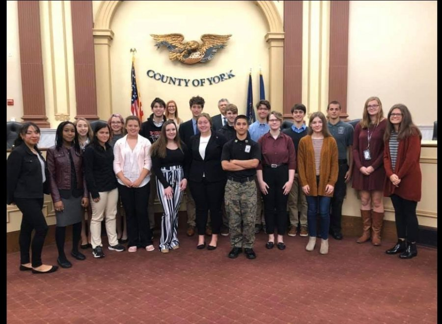 Students from various York County Schools attended Youth Appreciation Day at the York Courthouse.