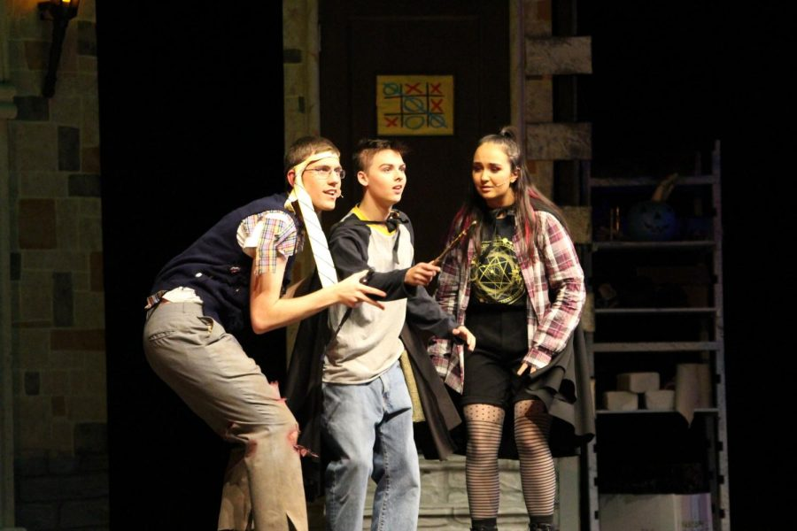 Students Make Magic in the Theater Production of Puffs