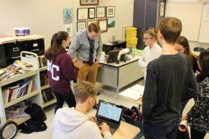 Freshmen English Students Spread Awareness