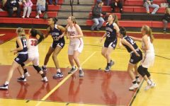 Girls Basketball Works Hard with a Young Team