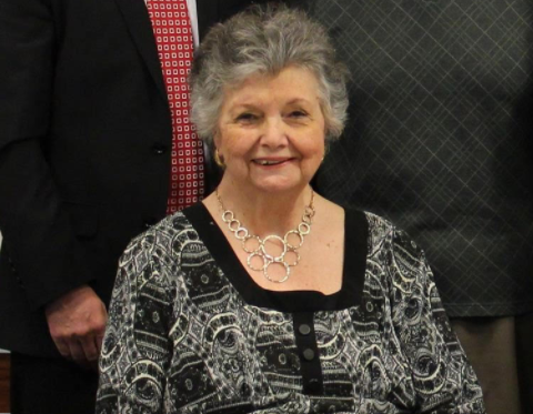 Groncki, 77, was a memeber of the school board for 27 years.  Image Courtey of the school board.