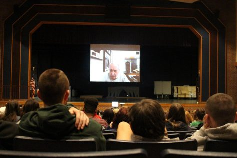 Holocaust Survivor David Tuck Speaks with Students