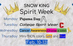 Mini-THON Hosts Spirit Week for Snow King
