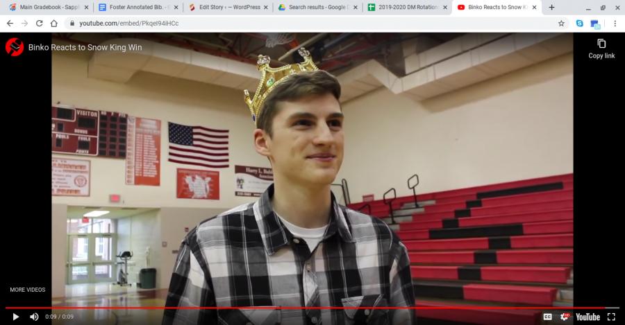 Binko Crowned Snow King
