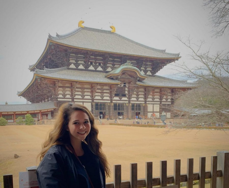 McCullough+admires+local+architecture+in+Nara%2C+Japan.+%0APhotograph+Courtesy+of+Kelsey+McCullough