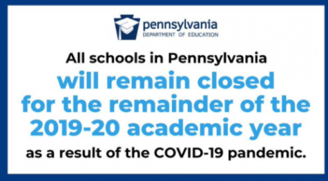 All schools will remain closed for the remainder of the 2019-20 academic year. Image Courtesy of @MorrisAnimal via Twitter