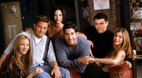 """Friends"" premiered in 1994. Image Courtesy of: @insidefriends via Twitter"
