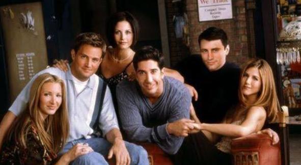 Friends premiered in 1994. Image Courtesy of: @insidefriends via Twitter