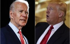 Presumptive Democratic presidential nominee Joe Biden and President Donald Trump face off. Image Courtesy of @latimes via Twitter