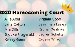 Student Council Announces 2020 Homecoming Court
