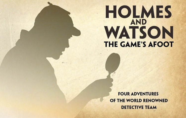 "The Promo Poster for the fall play, ""Holmes and Watson:The Games Afoot"". Image Courtesy of: @susquehannocktheatre via Instagram"