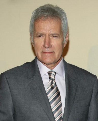 Alex Trebek attends the Peabody Awards in 2012. Image by Peabody Awards, CC BY 2.0 , via Wikimedia Commons